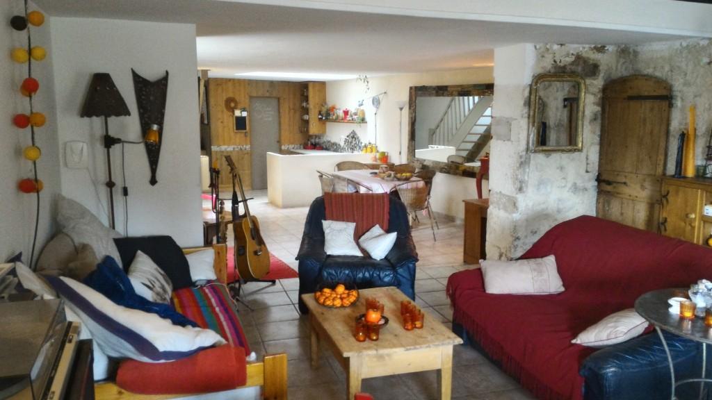maison de village 3 chambres à guzargues