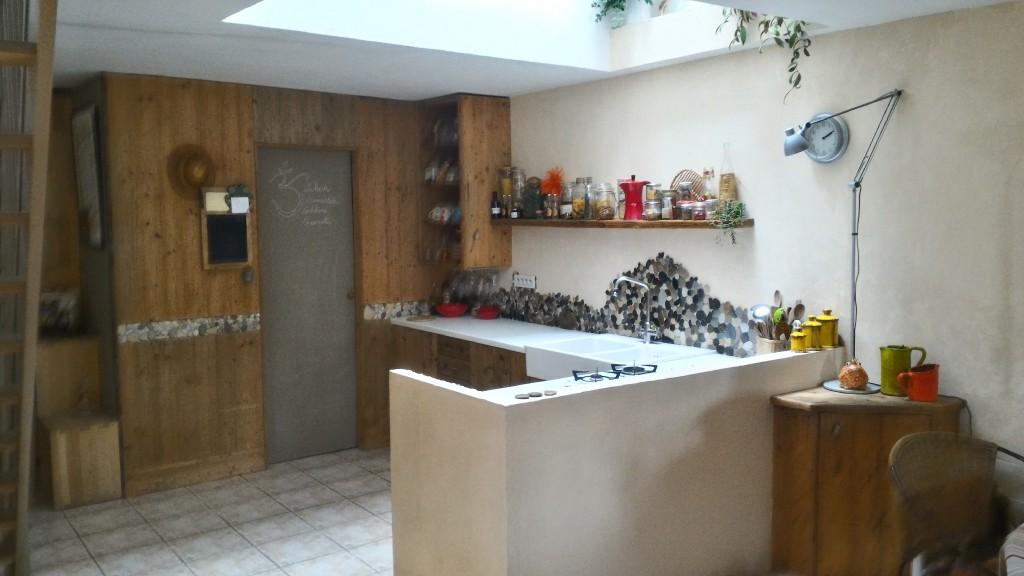 maison de ville 3 chambres 34820