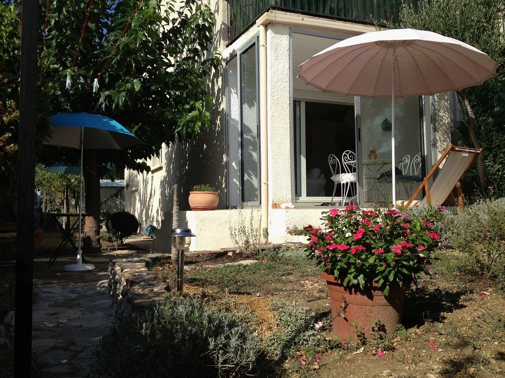 Appartement t3 avec jardin teyran vente immobilier teyran for Immobilier avec jardin