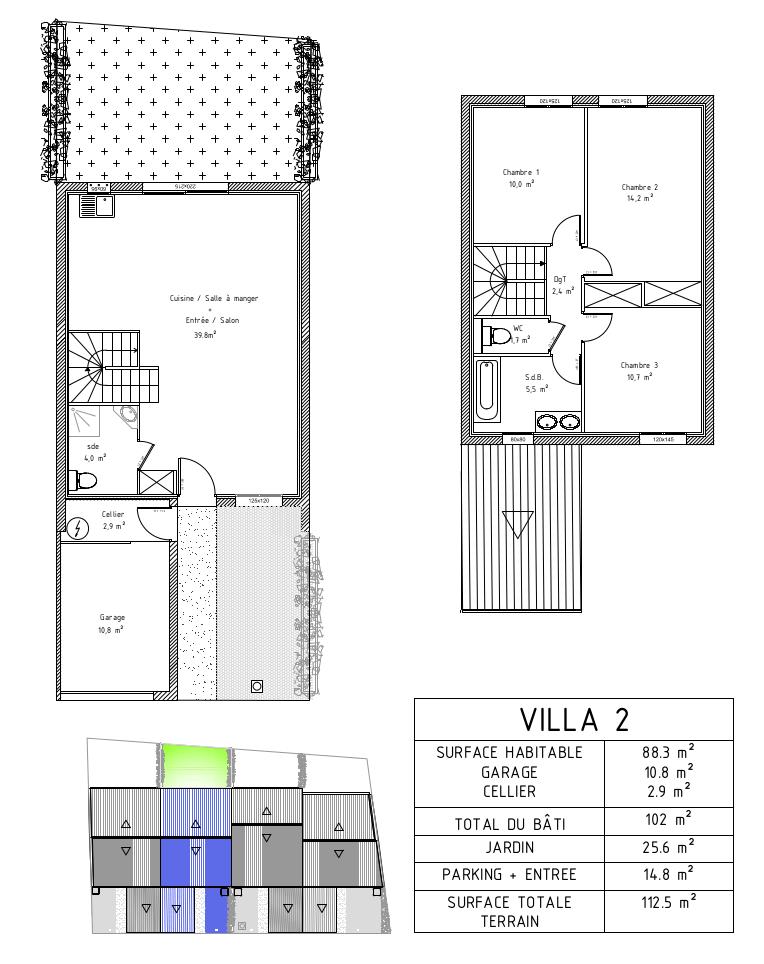 villa neuve le cres 34920
