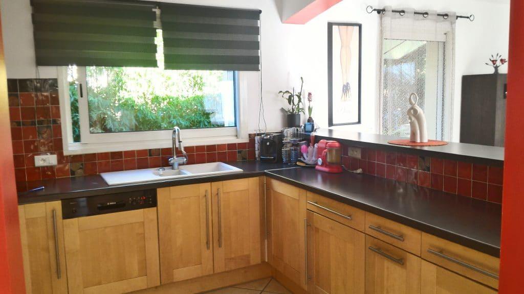Clapiers maison avec cuisine ouverte