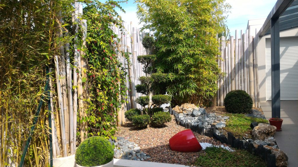 vente villa plain pied Teyran avec jardin japonais