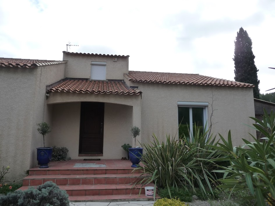 Villa Teyran 4 chambres plain pied