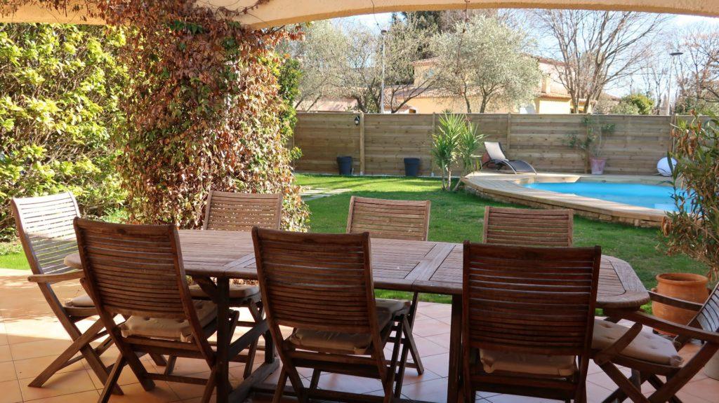 villa avec piscine castelnau le lez